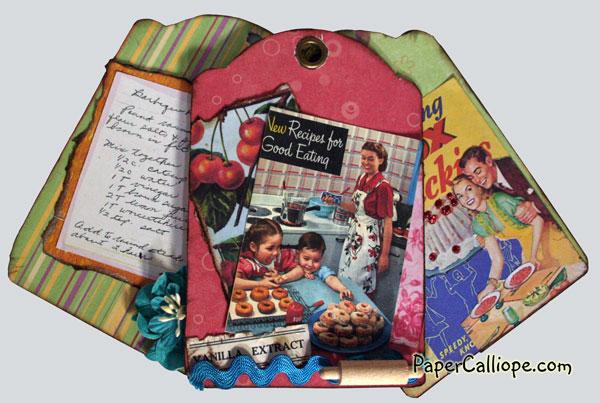 Retro Refrigerator Recipe Tags--by Paper Calliope